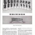 1965 Kiekhaefer Mercury Outboard Motors Ad- Nice Photo of 9 Models