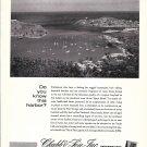 1966 Chubb Insurance Ad- Nice Photo St. Georges Harbor, Grenada