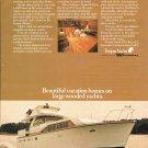 1972 Trojan 42' Motor Yacht Color Ad- Nice Photo