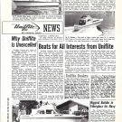 1972 Uniflite Boats Ad- Photos of 36- 31 & 42' Models