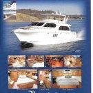 2008 Navigator 6200 & Westport 112 New Yachts 2 Pg Double Ad- Nice Photos