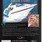 1998 Stingray- Sea Ray & Regal 4 Page Triple Boat Ads- Nice Photos