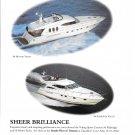 2002 Viking 68 Motor Yacht & 56 Flybridge Yacht Color Ad- Nice Photo