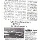 1973 Berkeley Jet Drives Ad- Photo of Fiberform Jet Boat