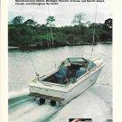 1976 Sea Ray Boat & MerCruiser 470 Stern Drive 2 Pg Double Ad- Nice Photos