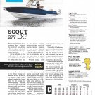 2021 Scout 277 LXF Boat Review- Photo & Boat Specs