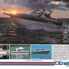 1984 Cruisers Boats Color Ad- Nice Photo Ultra Vee 336/33'