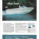 1970 Larson 17' Volero 187 Comboard Boat Color Ad- Nice Photo