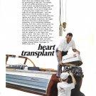 1970 Johnson Sea- Horse 85 HP Outboard Motor Color Ad-Nice Photo- Thompson Boat