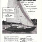 1959 George B Walton King's Cruiser Sailboat Ad- Nice Photo