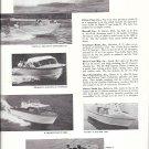 1959 Owens-Starliner-Revel-Grumman-Aero- Craft-Flying Finn New Boats Ad- Photos
