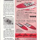 1959 Lone Star Boats Ad- Monterey Models