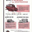 1959 Gray Marine Motor Co Ad- Photo of 130- 109 & 170 HP
