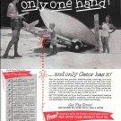 1959 Peterson Gator Boat Trailer Ad- Nice Photo- Hot Girl