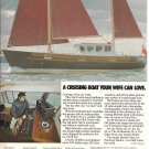 1977 Fisher 37 Sailboat Color Ad- Nice Photo