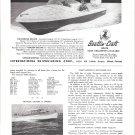 1958 Scottie- Craft 15' Corsair Deluxe Boat Ad- Nice Photo