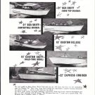 1958 Revel Craft Boats Ad- Photos of 21'- 15' & 22' Models
