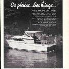 1967 Trojan 26' Sea BreezeExpress Cruiser Boat Ad- Nice Photo