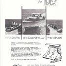 1962 Clayton Sea Skiff Boats Ad- Photo of 28' Models