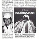 1972 Berkeley Jet Drive Ad- Photo of 18' Hondo Boat