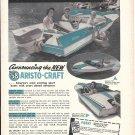 1958 Atlanta Boat Works Ad- Nice Photo Aristo- Craft - Hot Girl