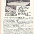 """1958 Sea Sled """"Big 16"""" Hydroplane Boat Ad- Nice Photo"""