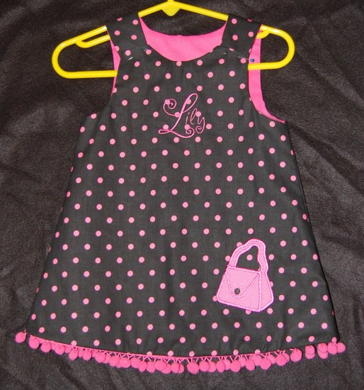 Polka Dot Purse Dress