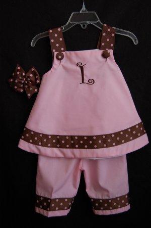 Pink and Brown Callie Set