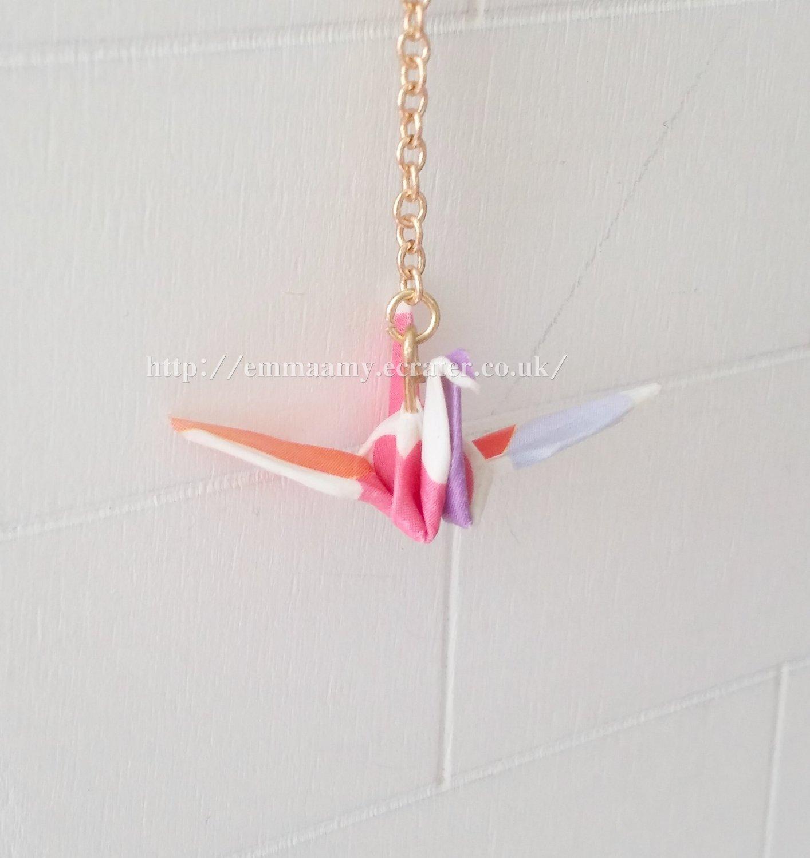 Colorful Junior Childike Cute Origami Single Earrings