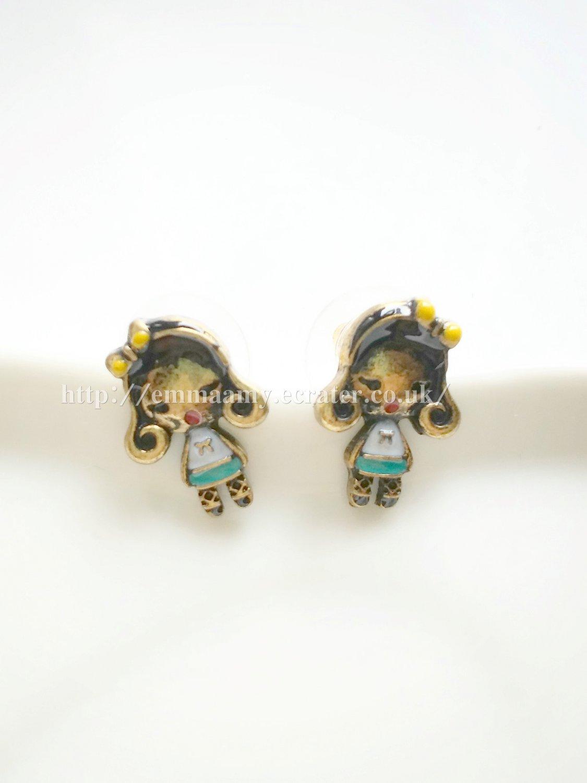 Lovely Children Stud Earrings