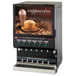 Leach Enterprises has a 6 Hopper Cappuccino Machines for Sale Online
