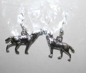 Wolf Ear Rings