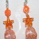 Various Orange Color Ear Rings