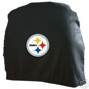 Pittsburgh Steelers Auto/Car Head Rest Covers Set Gift