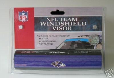 Baltimore Ravens NFL Car Winshield Sun Visor Logo Film Gift