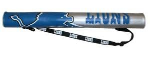 Detroit Lions 6-Pack Can Shaft Cooler w/Strap Gift