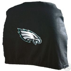 Philadelphia Eagles Auto Car Head Rest Covers Set Gift