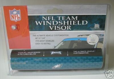 Philadelphia Eagles NFL Car Winshield Sun Visor Logo Film Gift