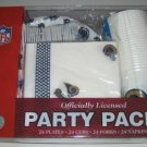 St. Louis Rams 96pc Party Pack Cups Plate Napkins