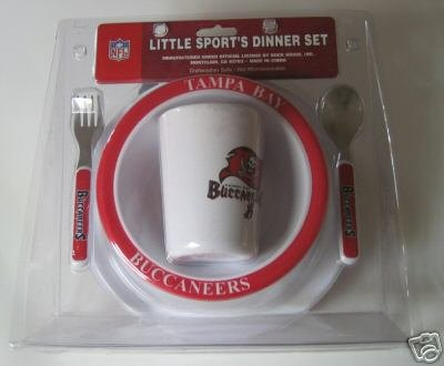 Tampa Bay Buccaneers Baby Kids Dinner Set Gift