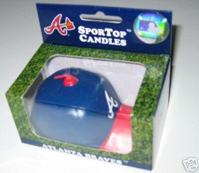 Atlanta Braves SporTop Baseball Cap Candle Medium Gift