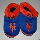 New York Mets Fuzzy Slide On Slippers Gift