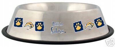Buffalo Sabres Pet Dog 32oz Stainless Steel Bowl Gift