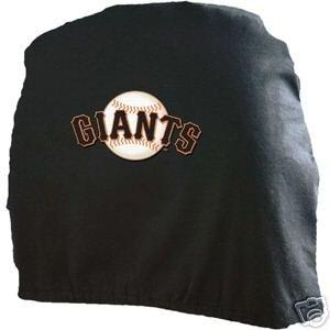 San Francisco Giants Auto Car Head Rest Covers Set Gift