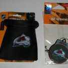 Colorado Avalanche Auto Car Pouch Organizer & Air Freshener Set Gift