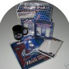Colorado Avalanche 5pc Hockey Gift Net Basket