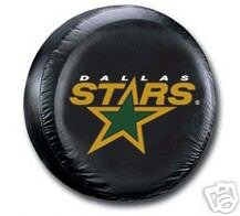 Dallas Stars Black Spare Car Tire Cover Gift