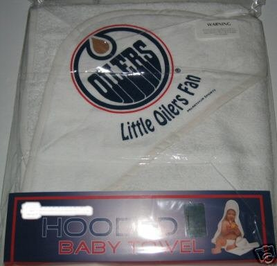 Edmonton Oilers Hooded Baby Towel Beach Cover Up Gift