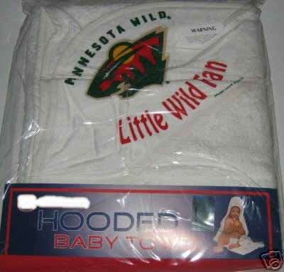 Minnesota Wild Hooded Baby Towel Beach Cover Up Gift