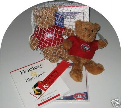 Montreal Canadiens Women's 4pc Hockey Gift Net Basket